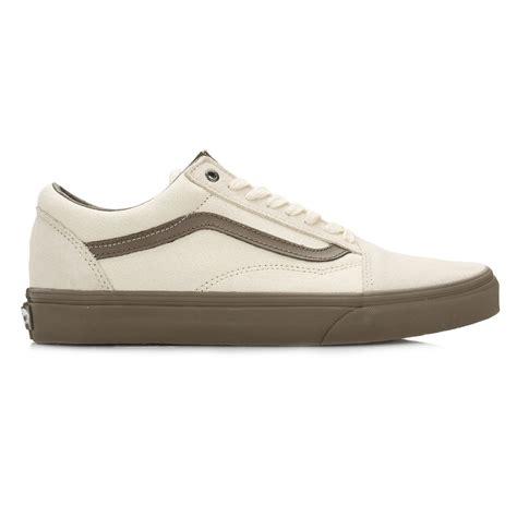 Sepatu Casual Unisex Sneakers Vans Oldskool Black White Waffle Dt vans unisex skool trainers canvas low top casual lace up shoes ebay