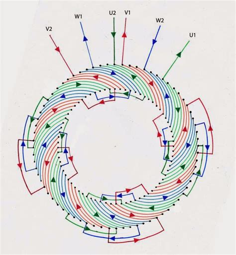 june  electrical winding wiring diagrams
