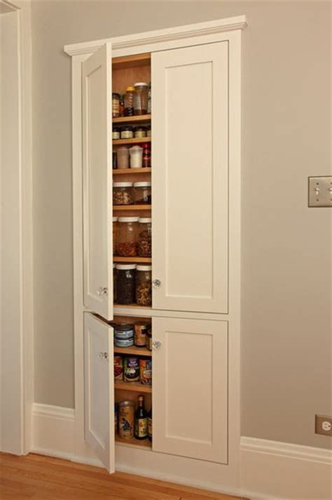 recessed in wall kitchen pantry cabinet 329 best between the studs images on pinterest