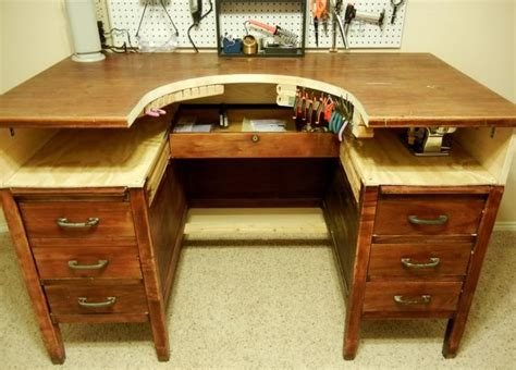 antique jewelers bench release me creations modify a wooden desk for a workbench