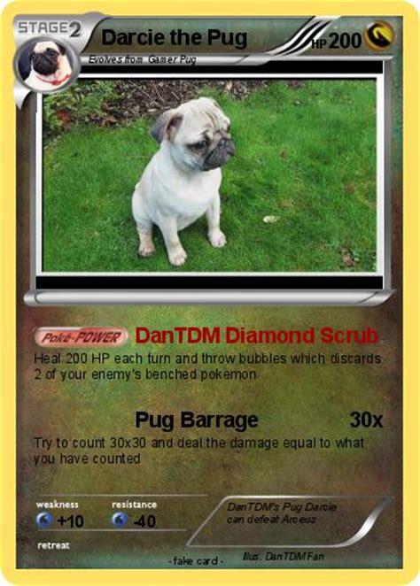what are dantdm s pugs names pok 233 mon darcie the pug dantdm scrub my card