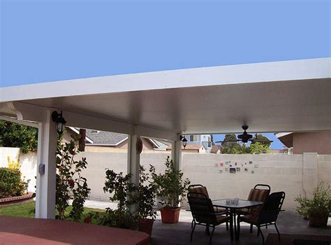 Aluminum Patio Awning Maxx Panel Insulated Roof