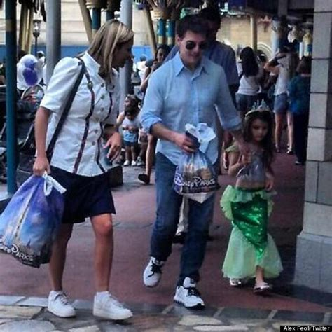 Tom And Throw A Tea For Suri by Tom Cruise Suri Cruise Spend The Day At Disney World