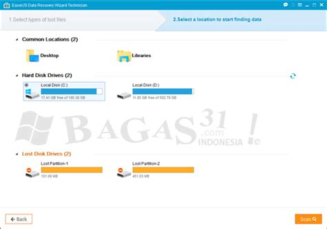 bagas31 recovery easeus data recovery wizard technician 11 8 full version