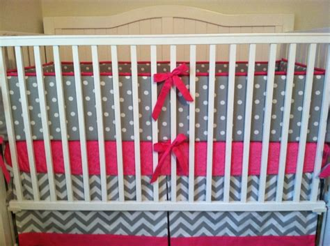 Grey Chevron Crib Skirt by Black And Gray Chevron Crib Skirt Prefab Homes Black