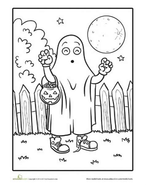 educational halloween coloring pages pinterest the world s catalog of ideas