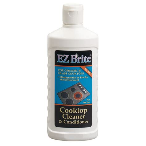glass ceramic cooktop cleaner ez brite glass ceramic cooktop cleaner conditioner ebay