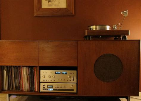 stereo cabinet with turntable shelf vintage stereo cabinet woodworking projects plans