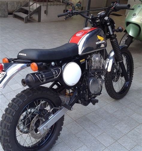 Motorrad Forum Honda by Scrambler Umbau Honda Dominator Forum Cafe