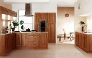 Walnut Shaker Kitchen Cabinets Light Walnut Shaker Kitchen Cut Price Kitchens Premium