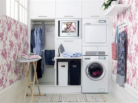 Small Laundry Room Storage Ideas 10 Clever Small Laundry Room Storage And Organization Ideas Home And Gardening Ideas