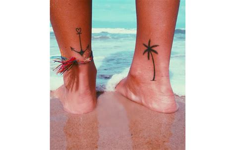 small surf tattoos 17 small but beautiful tattoos every surfer will wan