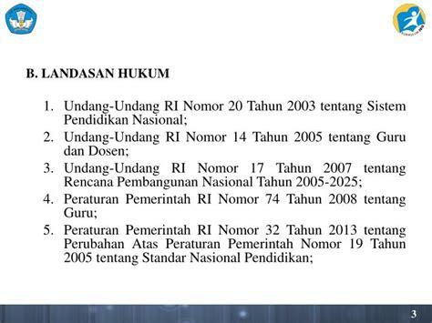 Undang Undang Ri No 17 Tahun 2008 Tentang Pelayaran ppt petunjuk teknis pendingan pelaksanaan kurikulum 2013 di smp tahun pelajaran 2014 2015