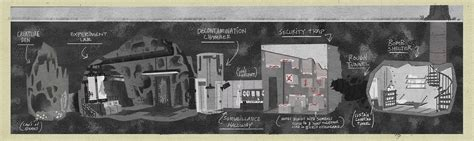 layout gravity falls image s2e2 bunker layout sean jimenez png gravity