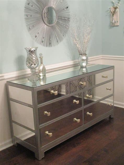 Mirror Dresser by Mirrored Dresser Or Buffet Silver Modern Mirror Dresser
