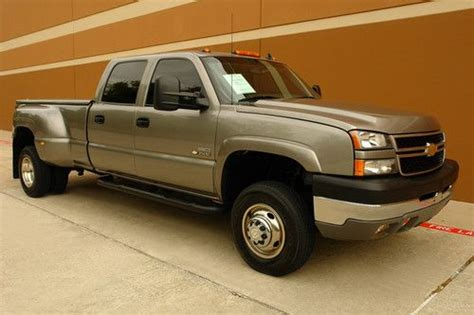 automobile air conditioning service 2006 chevrolet silverado 3500hd electronic toll collection buy used 06 chevy silverado 3500hd lt3 crew cab diesel drw 4wd roof one owner good cond in