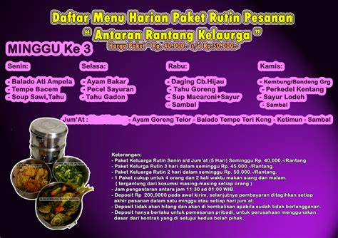 Jessq Rantang Paket Kue Lebaran menu harian keluarga nasiboks