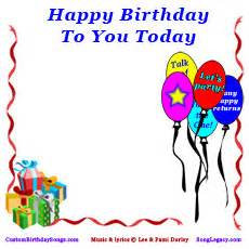 happy birthday song mp3