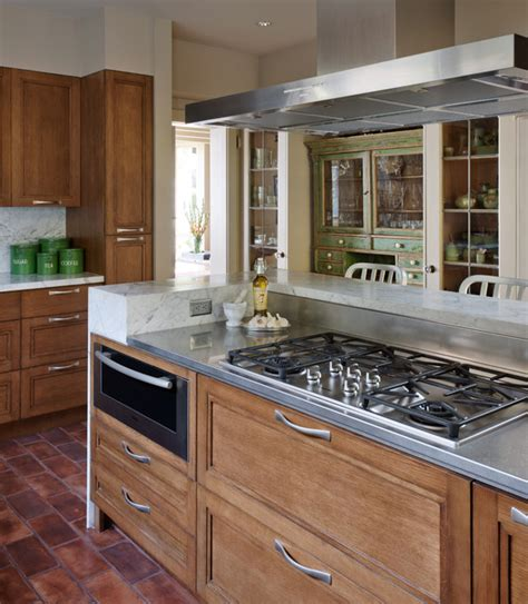 Gasl Bar Kitchen by Ge Gas Cooktop Kitchen Traditional With Beige Ceiling