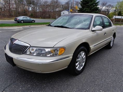 99 lincoln continental 1999 lincoln continental for sale