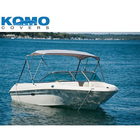 komo covers boat bimini top cover with boot and hardware - Northeast Harbor Boat Covers