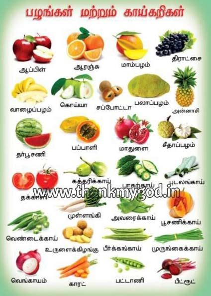 a z name that fruit and vegetable books fruits vegetables chart in tamil manufacturer inmadurai
