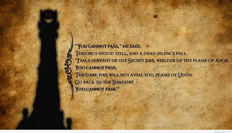 I You Ring Images by Top Quotes From Lord Of The Rings With Images Wallpapers