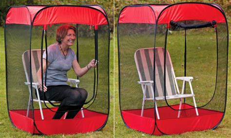 pop up chair hide create a bug free zone anywhere with insect a hide pop up
