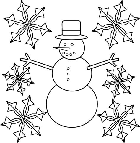 Snowflake Color Page Coloring Home Snowflake Coloring Pages