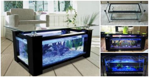 diy aquarium coffee table how to diy aquarium coffee table beesdiy