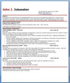 Sous Chef Resume Template by Sous Chef Resume Template Free Resume Downloads