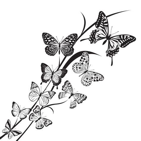 imagenes de mariposas en negro vinilo pixerstick dise 241 o de mariposas en blanco y negro