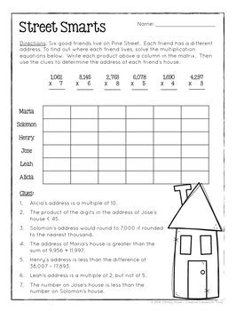 printable logic puzzles 4th grade math logic puzzles 4th grade enrichment by christy howe