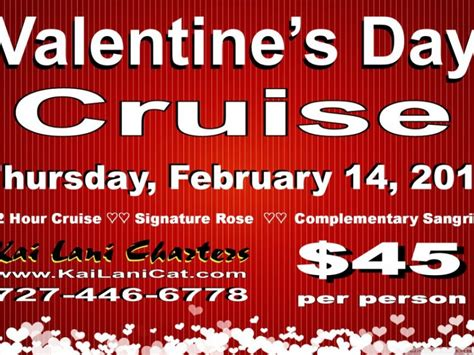 valentines day cruises s day evening sunset cruise on