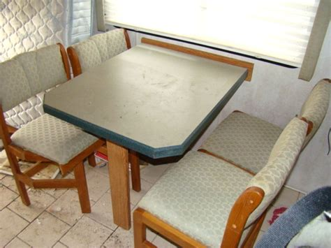 rv table and chairs rv parts used rv furniture for sale dining table and 4
