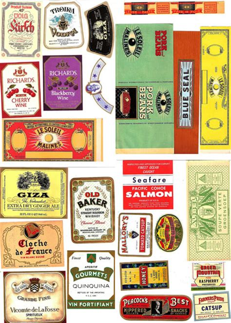 printable vintage labels for cans diy vintage tins free labels i do it yourself 174