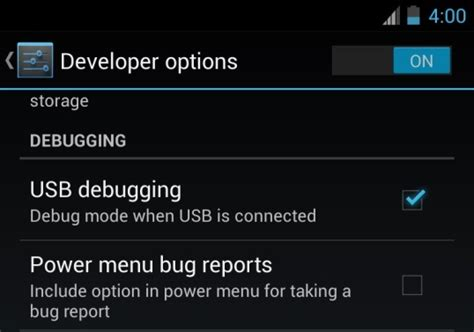 debugging android how to enable usb debugging mode in android devices