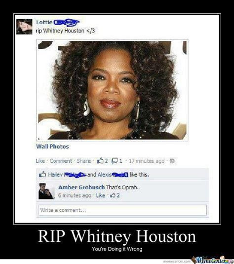 Whitney Houston Memes - whitney houston quotes memes quotesgram