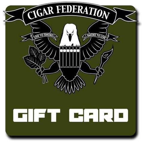Cigar Gift Card - cigar federation gift card