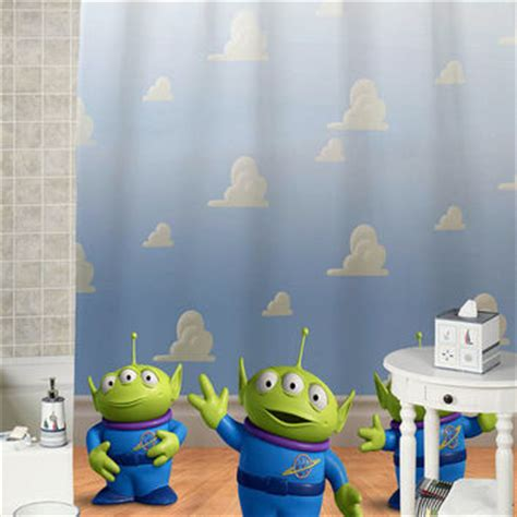 toy story 3 bathroom best alien shower curtain products on wanelo