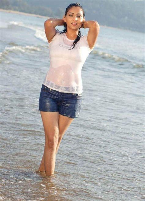 kannada film actress address kannada actress ramya wet beach stills actress photos