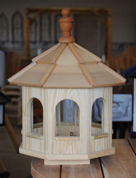 Octagon Bird Feeder Wooden Octagon Birdfeeder Wooden Birdhouses And