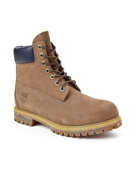 Timberland Boot Ring Brown Ujung Besi timberland premium 6 quot lace up boot in brown for lyst