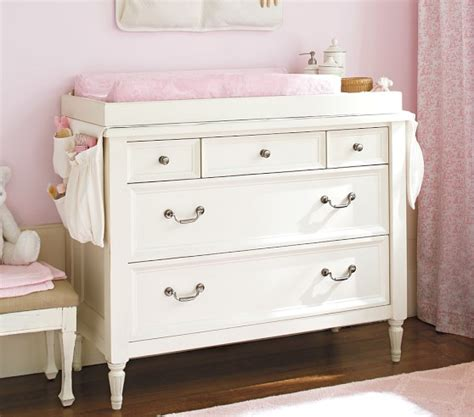 Changing Table Toppers Darcy Dresser Changing Table Topper Set Pottery Barn