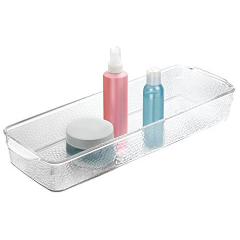Bathroom Organizer Tray Mdesign Bathroom Storage Organizer Tray Plastic Handles Soap Lotions Toilet Tank Ebay