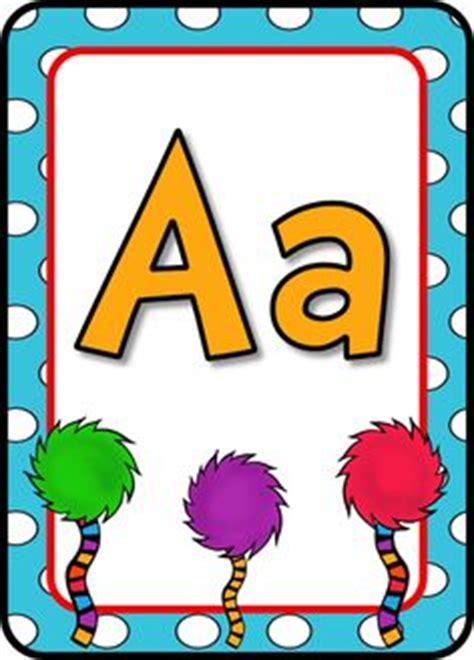 dr seuss printable alphabet letters 1000 images about dr seuss classroom decor on pinterest