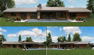 contemporary ranch style house plans like the look of this contemporary ranch home ideas
