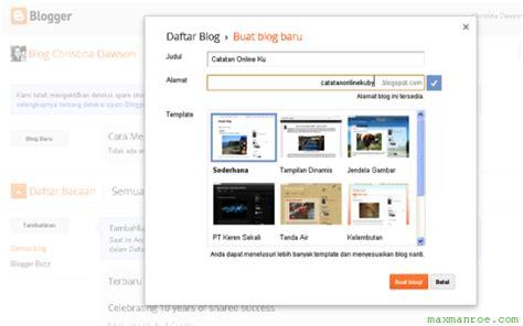 membuat blog praktis cara membuat blog cepat dan praktis tutorial software