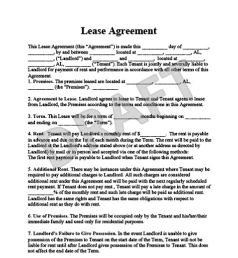 best month to sign a lease rental agreement template beepmunk