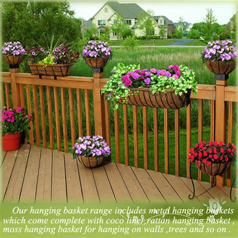 Buy A Planter green field wire hanging baskets wholesale wholesale